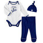 Toronto Maple Leafs Newborn Future Legend Long Sleeve Creeper, Pant, and Hat Set by Outerstuff