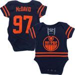 Connor McDavid Edmonton Oilers Newborn Pro 3rd Jersey Name and Number Creeper by Outerstuff