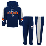 Edmonton Oilers Toddler Power Forward Pullover Fleece Hoodie and Pant Set by Outerstuff