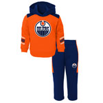 Edmonton Oilers Toddler Winger Pullover Fleece Hoodie & Pant Set by Outerstuff