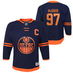 Connor McDavid Edmonton Oilers Toddler Premier Alternate Jersey by Outerstuff