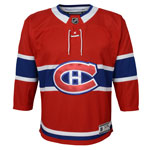 Montreal Canadiens Toddler Premier Home Jersey by Outerstuff