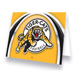 Hunter Hamilton Tiger-Cats Greeting Card