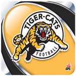 Hunter Hamilton Tiger-Cats Mouse Pad
