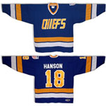 Charlestown Chiefs Jeff Hanson Away Jersey