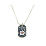 JF Sports Winnipeg Jets Dog Tag Necklace