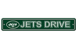 Fremont Die New York Jets Plastic Street Sign