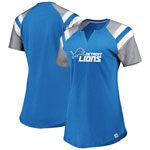 Detroit Lions Women's Ultimate Fandom T-Shirt by Majestic