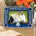 Toronto Maple Leafs Horizontal Art Glass Picture Frame by The Memory Company