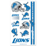 Wincraft Detroit Lions Temporary Tattoos