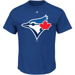 Toronto Blue Jays Official Logo T-Shirt by Majestic