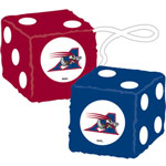Fremont Die Montreal Alouettes Fuzzy Dice