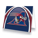Hunter Montreal Alouettes Greeting Card
