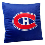 Forever Collectibles Montreal Canadiens 16''x16'' Square Plush Pillow
