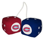 Fremont Die Montreal Canadiens Fuzzy Dice
