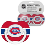 First Time Fan Montreal Canadiens 2-Pack Baby Pacifier Set