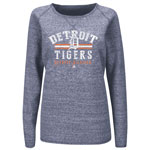 Detroit Tigers Women's Neat Cleats Sweatshirt by Majestic