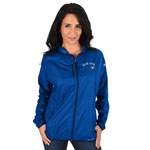 Toronto Blue Jays Women's Absolute Dominance Full-Zip Jacket by Majestic