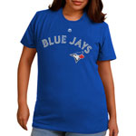 Toronto Blue Jays Women's Wordmark T-Shirt by Majestic