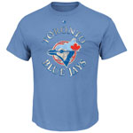 Toronto Blue Jays Cooperstown First Among Equals T-Shirt by Majestic