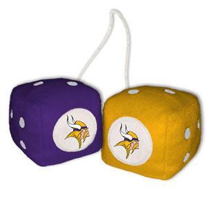 Fremont Die Minnesota Vikings Fuzzy Dice