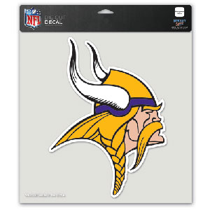 Wincraft Minnesota Vikings 8''x8'' Color Die Cut Decal