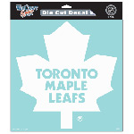 Toronto Maple Leafs 8''x8''  Die Cut Decal by Wincraft