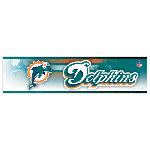 Wincraft Miami Dolphins Bumper Sticker