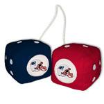 Fremont Die New England Patriots Fuzzy Dice