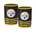 Pittsburgh Steelers Woolie Beverage Holders – 2 Pack by Mustang