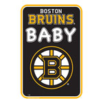 Boston Bruins Team Baby Sign by Mustang