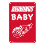 Detroit Red Wings Team Baby Sign by Mustang