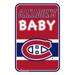 Montreal Canadiens Team Baby Sign by Mustang