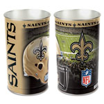 Wincraft New Orleans Saints Metal Garbage Can