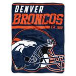 Denver Broncos 46'' x 60'' Super Plush Throw Blanket by Northwest