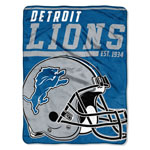 Detroit Lions 46''x60'' Micro Raschel Super Plush Throw Blanket by Northwest