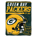 Green Bay Packers 46''x60'' Micro Raschel Super Plush Throw Blanket by Northwest
