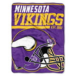 Minnesota Vikings 46'' x 60'' Super Plush Throw Blanket by Northwest
