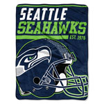 Seattle Seahawks 46'' x 60'' Super Plush Throw Blanket by Northwest