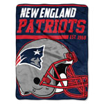 New England Patriots 46'' x 60'' Super Plush Throw Blanket by Northwest