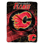 Calgary Flames 46''x60'' Micro Raschel Throw Blanket by Northwest