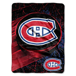 Montreal Canadiens 46''x60'' Micro Raschel Throw Blanket by Northwest