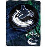 Vancouver Canucks 46''x60'' Micro Raschel Throw Blanket by Northwest