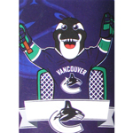 Vancouver Canucks Mascot Fin 46''x60'' Super Plush Micro Raschel Throw Blanket by Northwest