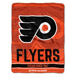Philadelphia Flyers 46''x60'' Super Plush Throw Blanket by Northwest
