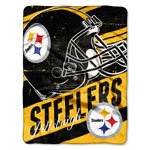 Pittsburgh Steelers 46''x60'' Micro Raschel Throw Blanket by Northwest