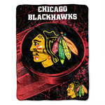Chicago Blackhawks 46''x60'' Micro Raschel Super Plush Throw Blanket by Northwest