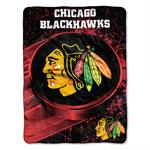Chicago Blackhawks 46''x60'' Micro Raschel Super Plush Throw Blanket by Northwest