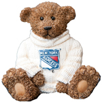 Elby Gifts New York Rangers Power Play Teddy Bear Figurine