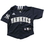 Adidas New York Yankees Infant Replica MLB Baseball Jersey